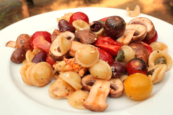 End of Summer Pasta Salad
